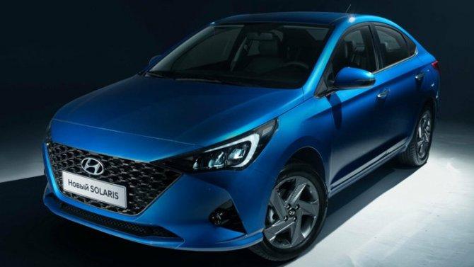 Новый Hyundai Solaris