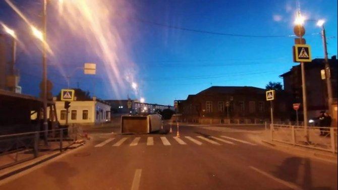 Четыре человека пострадали в ночном ДТП в центре Тюмени