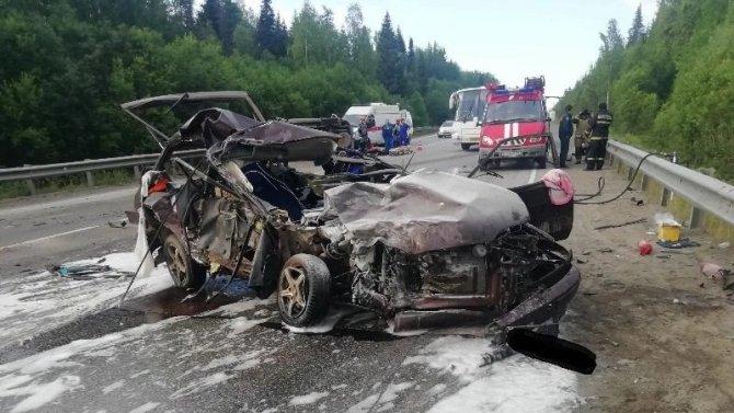 В ДТП в Пермском крае погиб мужчина