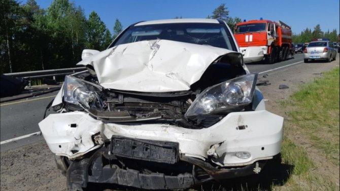 Три человека пострадали в ДТП в Кандалакшском районе Мурманской области