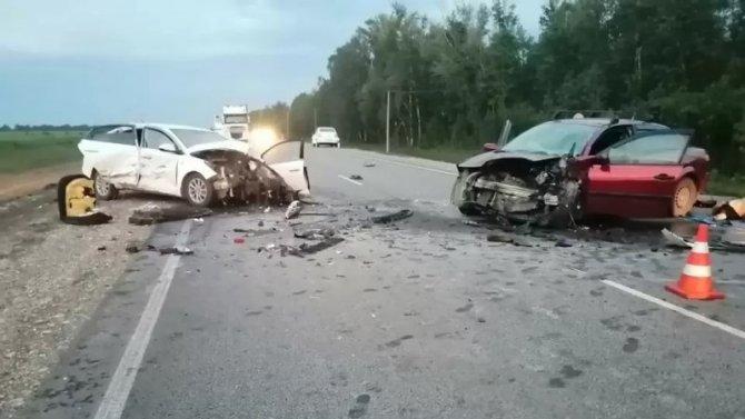 Водитель погиб в ДТП в Волжском районе Самарской области