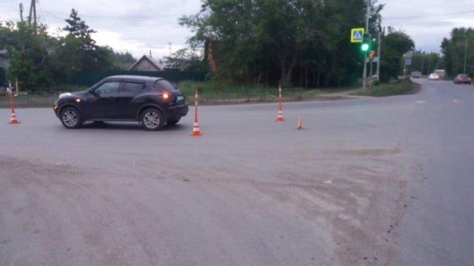В Омске автомобиль сбил 17-летнего пешехода