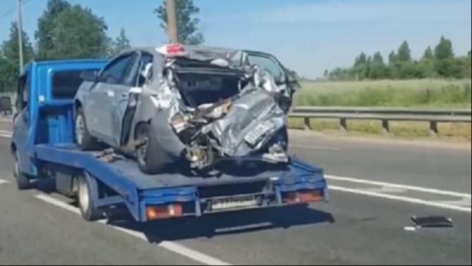 В ДТП в Сафоновском районе Смоленской области погибла женщина