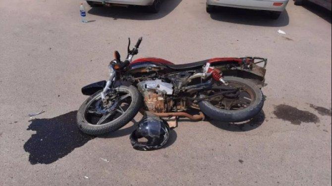 17-летний мотоциклист пострадал в ДТП в Воронежской области