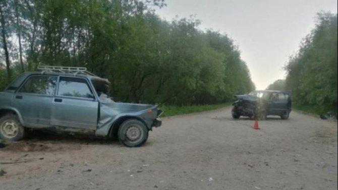 В Вельском районе Архангельской области в ДТП погиб пожилой водитель ВАЗа