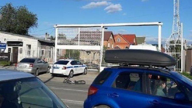 В Новосибирске BMW насмерть сбил ребенка на велосипеде