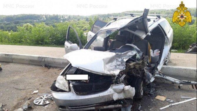 Три человека пострадали в ДТП в Калуге