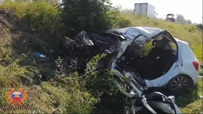 27-летний водитель погиб в ДТП под Красноярском