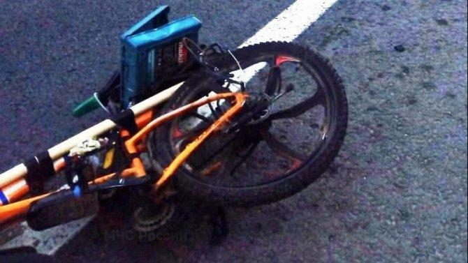 В Калужской области водитель насмерть сбил велосипедиста и скрылся