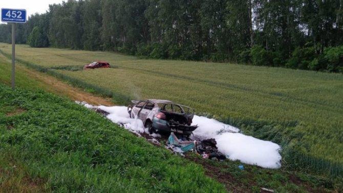Ребенок погиб в ДТП в Тамбовской области