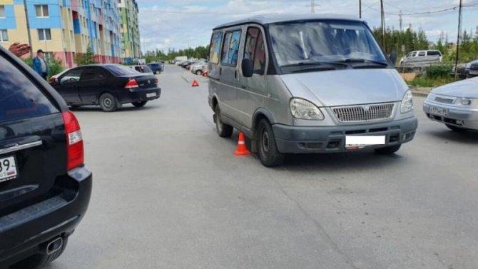 В Ноябрьске сбили 6-летнего ребенка