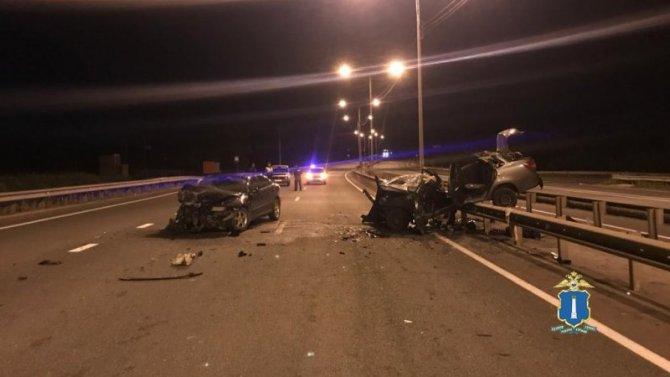 В ночном ДТП в Ульяновской области погиб человек