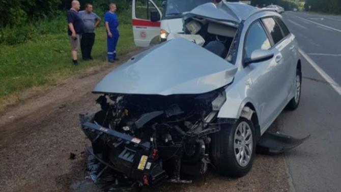 Два человека погибли в ДТП с грузовиком в Башкирии