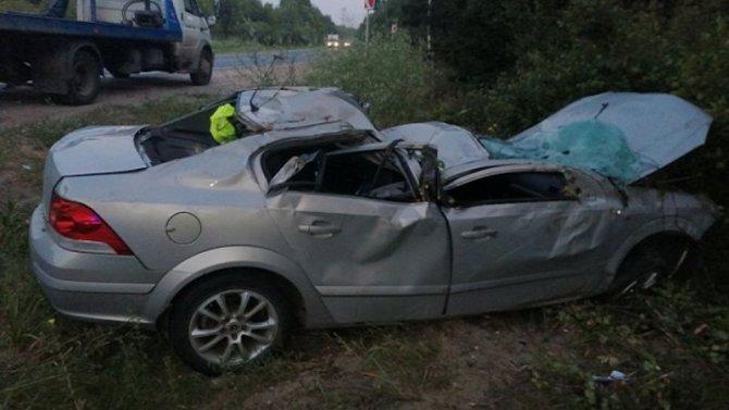 15-летний подросток погиб в ДТП во Владимирской области