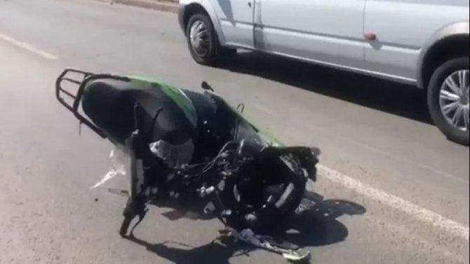 82-летний водитель скутера погиб в ДТП в Башкирии