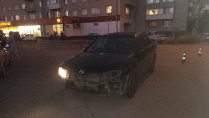 Мотоциклист пострадал в ДТП в Клинцах