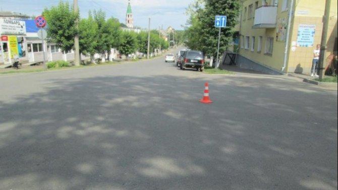 В Кировской области ВАЗ сбил 16-летнего велосипедиста