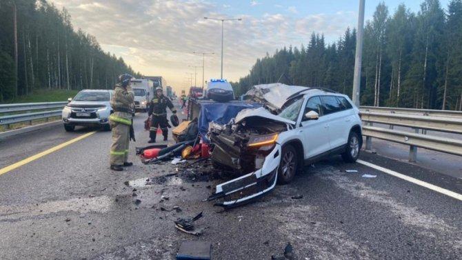 В Бологовском районе в ДТП с грузовиком погиб человек
