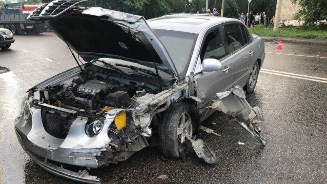 Три человека пострадали в ДТП на Пролетарской в Тамбове