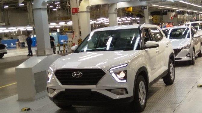 В Санкт-Петербурге начали собирать новое поколение Hyundai Creta