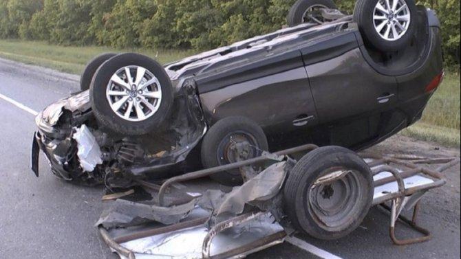 Два человека погибли в ДТП с мотоблоком в Пензенской области