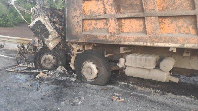 В ДТП с фурами в Тамбовской области погиб человек