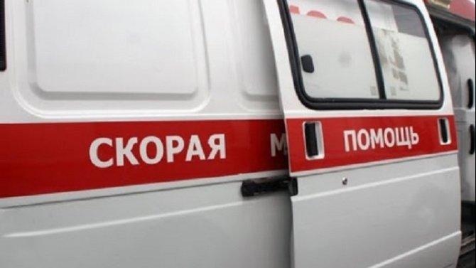 В центре Москвы мотоциклист попал в ДТП