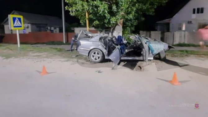 23-летний водитель BMW погиб в ДТП в Калаче-на-Дону
