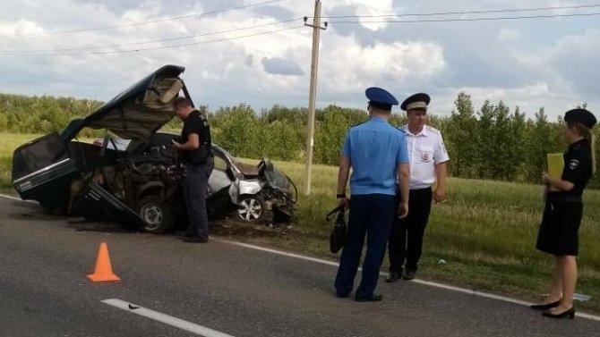В ДТП в Бугульминском районе Татарстана погиб человек