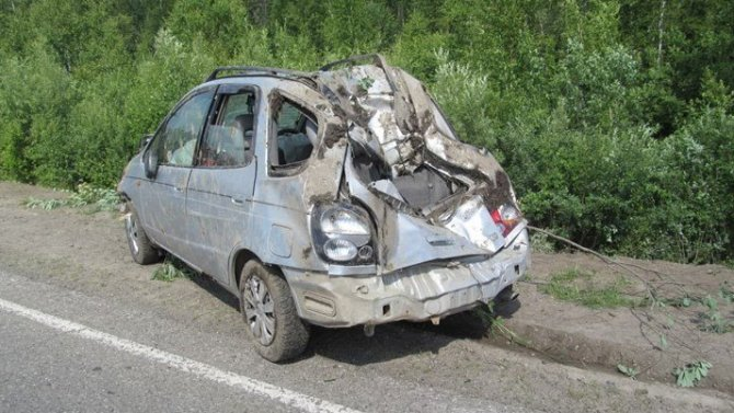 Водитель иномарки погиб в ДТП на трассе Томск – Каргала – Колпашево