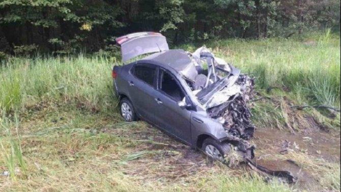 19-летний водитель погиб в ДТП в Калужской области