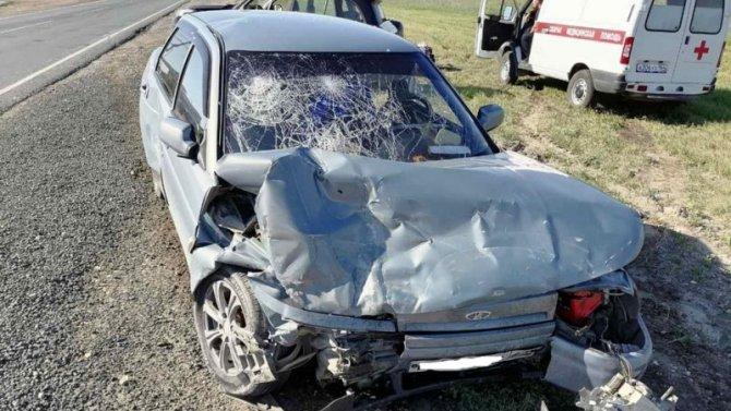 Четыре человека пострадали в ДТП в Хвалынском районе Саратовской области