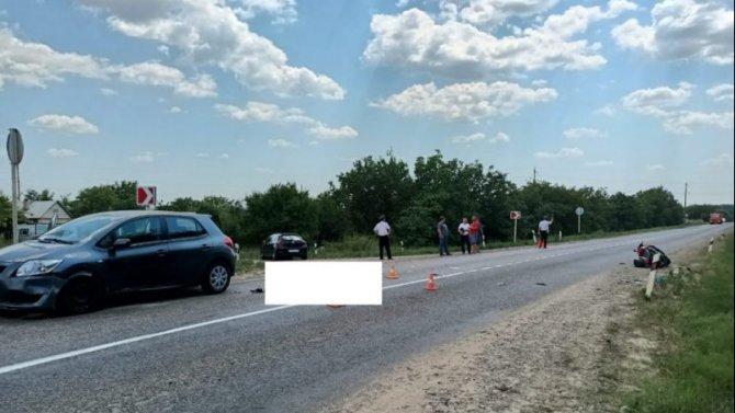 Водитель скутера погиб в ДТП в Ставропольском крае