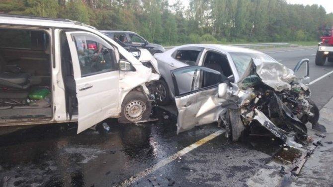 Три человека погибли в ДТП в Марий Эл
