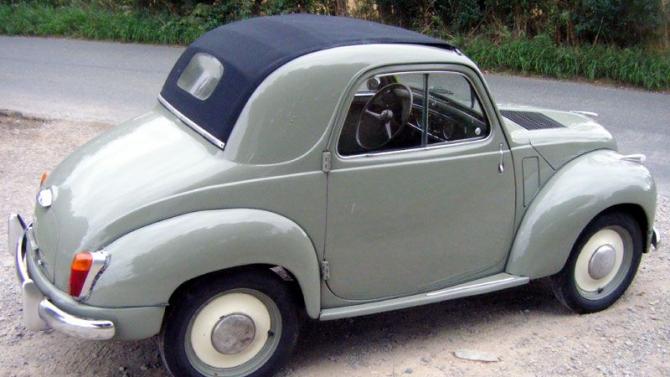 Нетот Fiat 500: самый маленький вмире серийный автомобиль, названный вчесть Микки Мауса