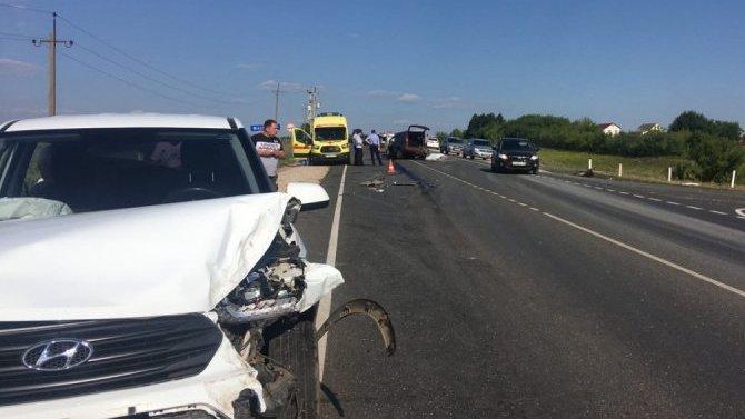 В ДТП с КамАЗом в Мордовии погибли два человека