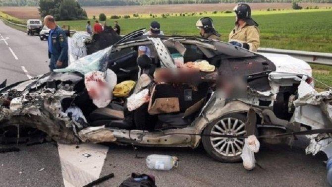 Водитель иномарки погиб в ДТП в Скопинском районе Рязанской области
