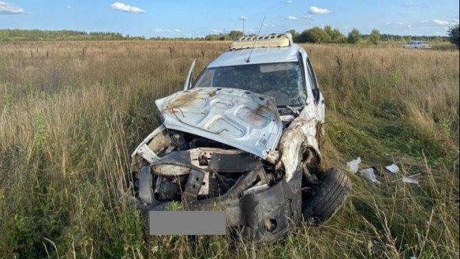 Водитель «Лады» погиб в ДТП в Лихославльскогом районе Тверской области