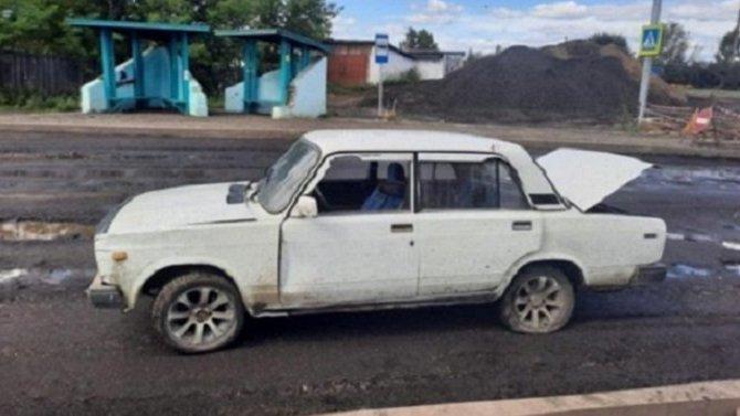 Женщина и 7-месячная девочка пострадали в ДТП по вине пьяного водителя в Нижнеудинске