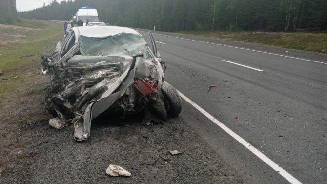 Три человека погибли в ДТП в Олонецком районе Карелии