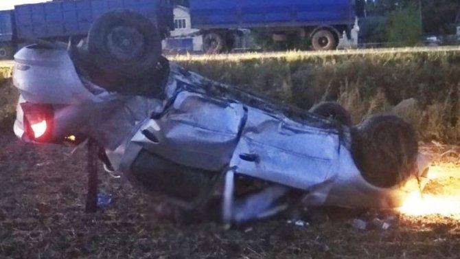 В Рязанской области иномарка врезалась в столб – погиб водитель