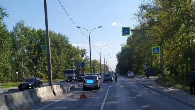 В ДТП в Новосибирске пострадал ребенок