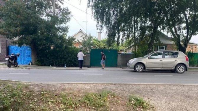 В ДТП в Аксае пострадала пассажирка мотоцикла