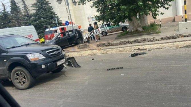 2-летний ребенок пострадал в ДТП в Курске