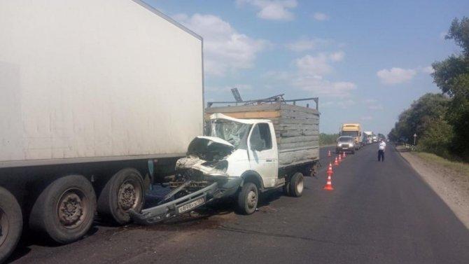 Пассажир «Газели» погиб в ДТП в Багаевском районе Ростовской области