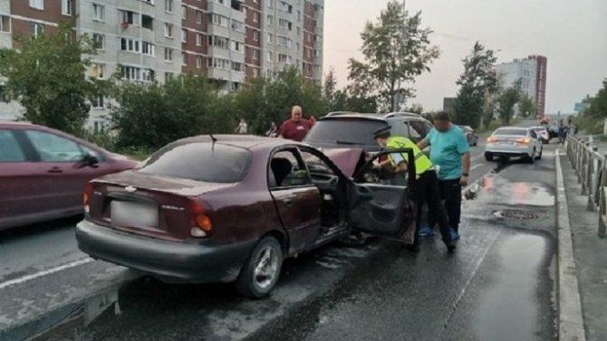 В Первоуральске по вине пьяного водителя в ДТП пострадал младенец