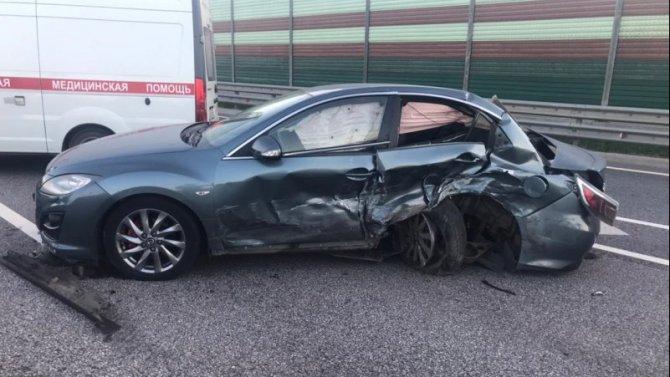 Три человека пострадали в ДТП на М-11 в Торжокском районе Тверской области