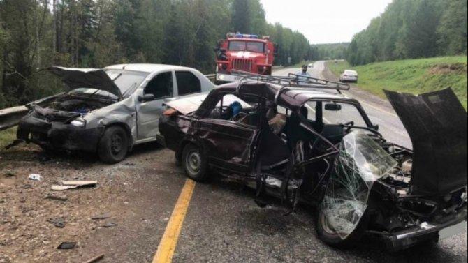 Два человека погибли в ДТП в Якшур-Бодьинском районе Удмуртии