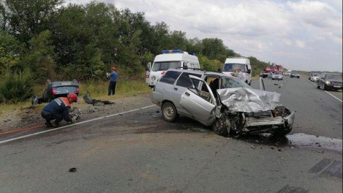 Три человека погибли в ДТП в Советском районе Саратовской области
