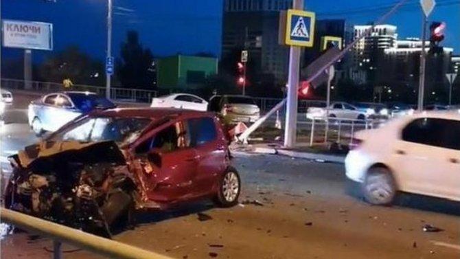 В ДТП в Тюмени пострадали два водителя